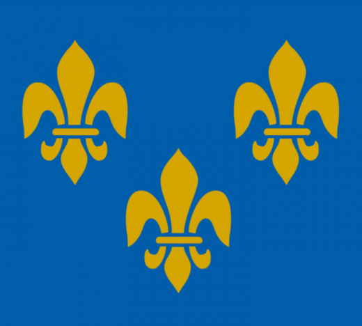 16th century French flag / source: Wikipedia
