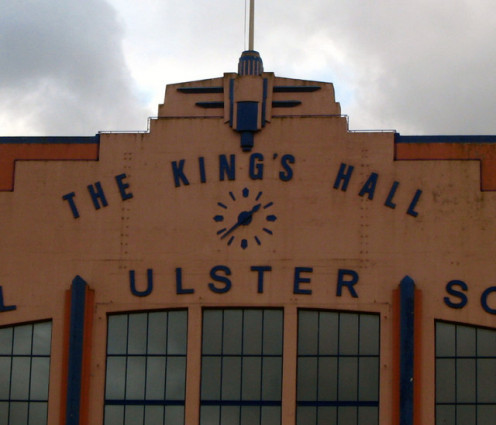 The King's Hall, Belfast [detail]