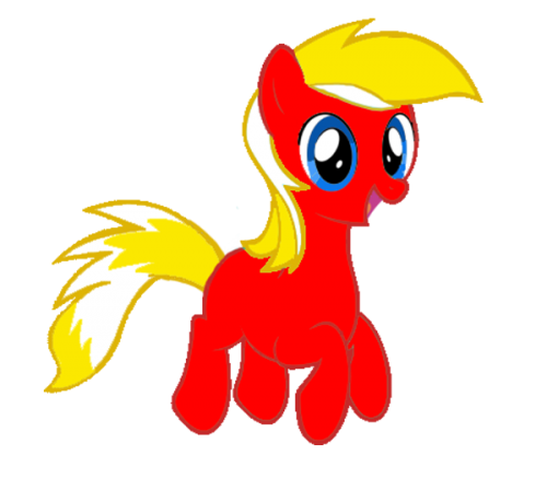 This is our beloved guardian's OC, LightningBlaze. Created by LightningBlaze