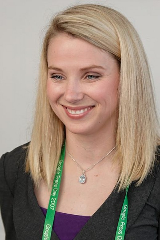Marissa Mayer at a Google Press day, 2007 in Germany