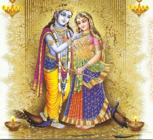 Radha and Krishna Calender image