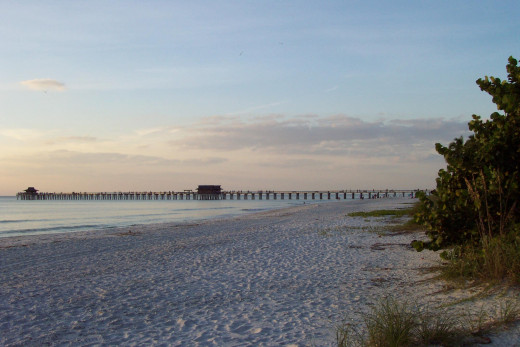 Beach at Naples, Florida