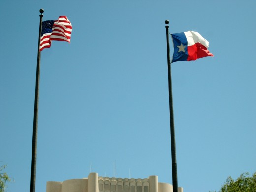 """""""Texas, Our Texas! all hail the mighty State! Texas, Our Texas! so wonderful so great!"""""""