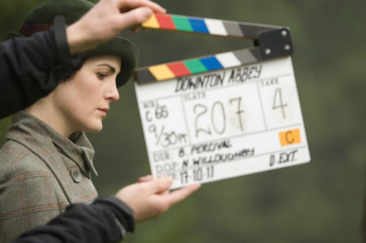 On the Set of Downton Abbey