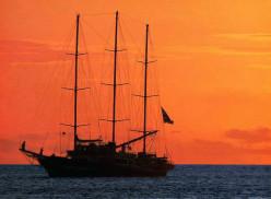 The Capitán Miranda, sailing school vessel of the National Navy of Uruguay