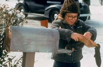 "I got it! I got it! Only to find out the ""secret message"" was a stupid ad. Ah, childhood memories! Poor Ralphie!"