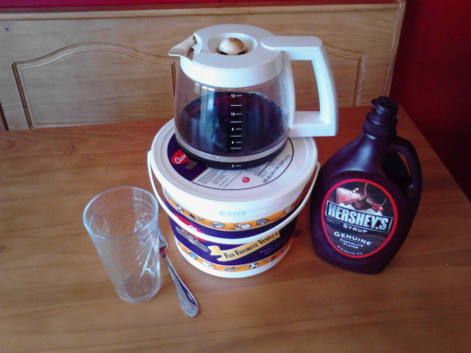 This is all you need to create a delicious Moolatte at home.
