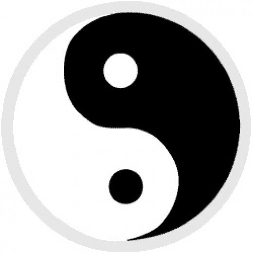 Ying-Yang, the symbol of balance in the universe from Chrome Blade Source: flickr.com