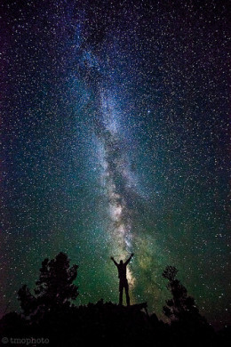 Self Portrait with the Milky Way from tmo-photo Source: flickr.com