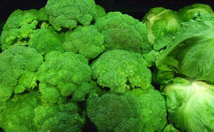 Broccoli is healthful and adds taste to this dish.