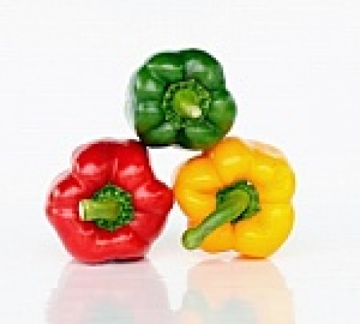 Add  colorful peppers.