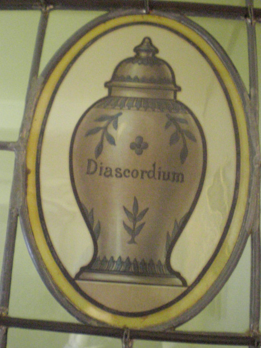 Decoration in the pharmacy