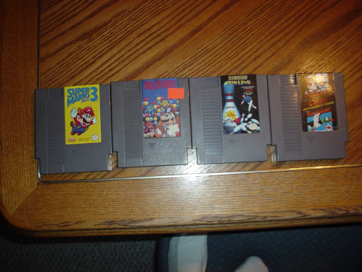 An awesome lot of just a few classic NES games. I love some of these classic titles that I grew up playing in the 90s. Don't you love them too?