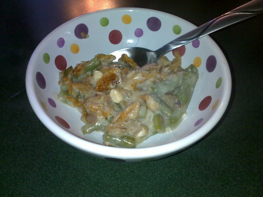 Green Bean Casserole with Almonds