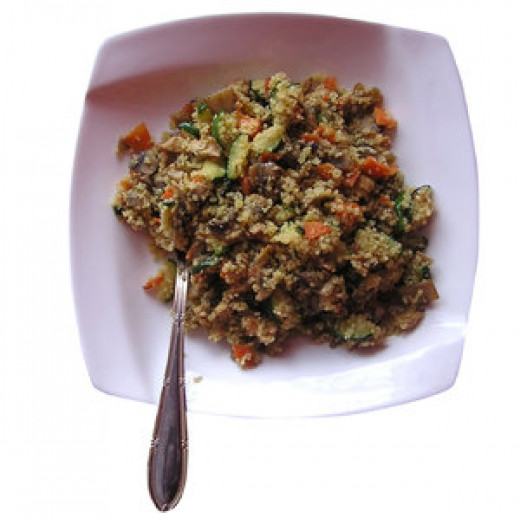 Enjoy this easy and delicious couscous dish.
