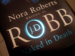 """The first book in the series - """"Naked in Death"""""""