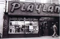 Playland was a great place when I was a child, and when they closed up, we saw ghosts there.