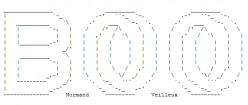 Ghosts, Spirits, Phantoms and Spooks in ASCII Text Art