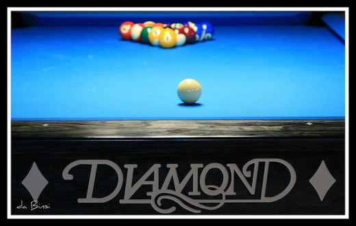 Purpose, brand, size, playing surface, material, cabinet, and rails should all be considered before buying a pool table.