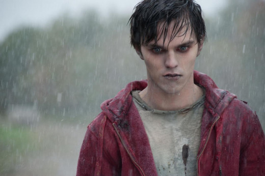Nicholas Hoult as R in the WARM BODIES movie adaption due out February 2013