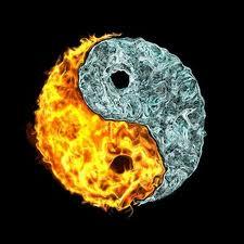 Fire & Water Yin Yang