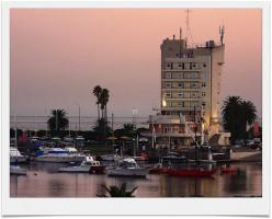 Buceo's harbour in Montevideo, Uruguay