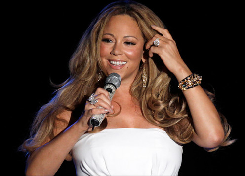 Mariah Carey - new  American Idol 2013 judge.