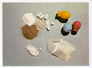Heroin in its different forms