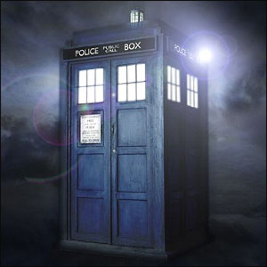 The Tardis, Dr Who's Time Machine