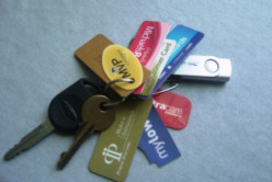 How many key holder-sized grocery/department store reward cards do you have on your keys?