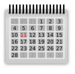 Our current calendar includes a leap day in February, once every fourth year (leap year) and once every fourth century (leap century).