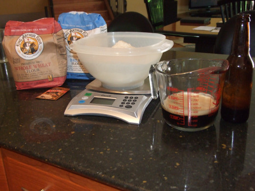I weigh my flour out of habit.