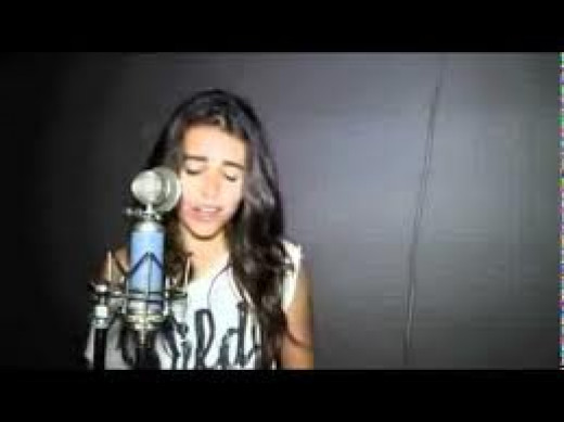 Madison Beer singing