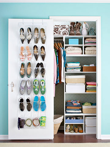 You can be organized in a small space, too!