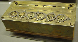 A Pascaline, built in 1652
