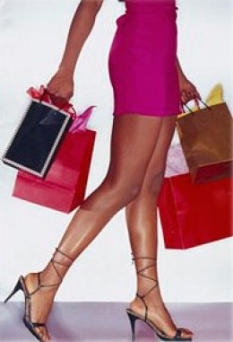 Sugar daddies take you on shopping trips, but let him hold your bags!