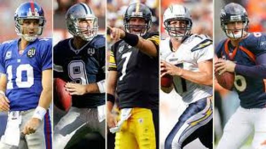 E. Manning, Romo, Roethlisberger, Rivers, Cutler