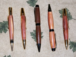 Completed pens
