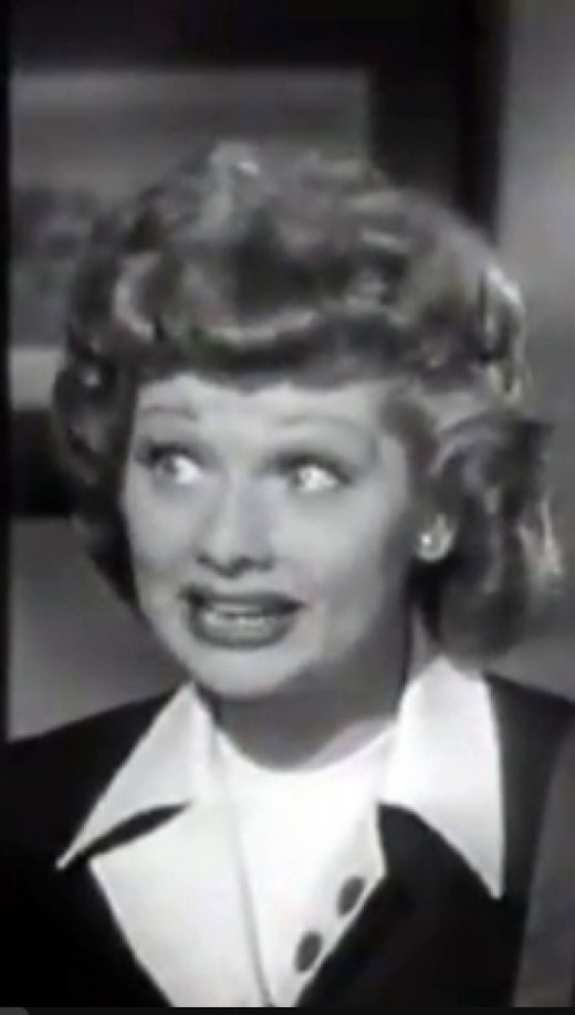 Lucille Ball in 1950, the year before I Love Lucy began