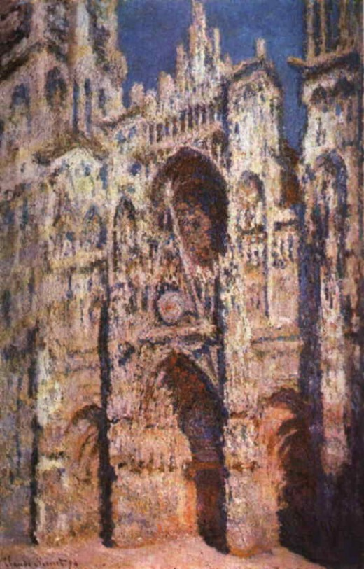 Rouen Cathedral: Full Sunlight By Monet