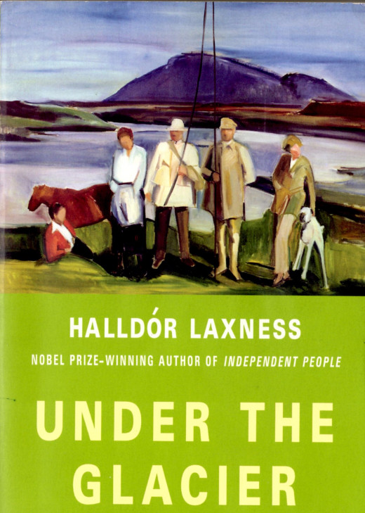 Book Cover of Under the Glacier