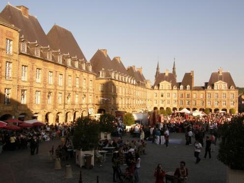 Ducal Square, Charleville-Mézières