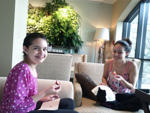 after treatment treats for teens.....
