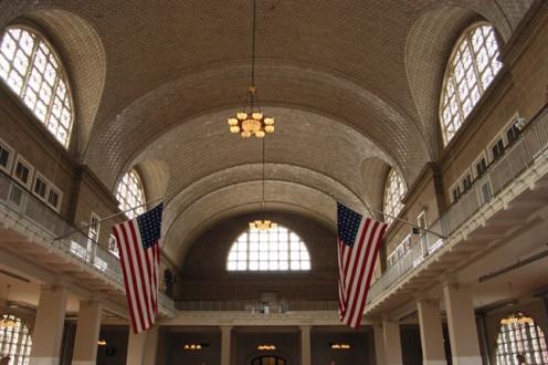 Inside Ellis Island
