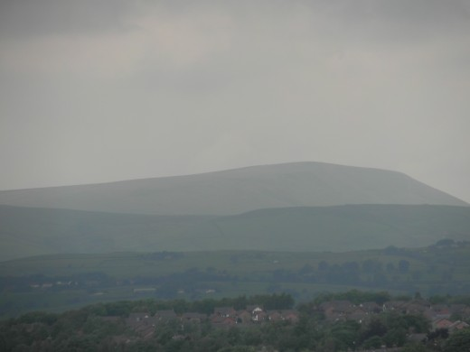 Pendle from Burnley