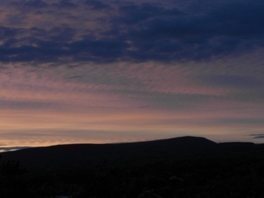 Pendle at dusk