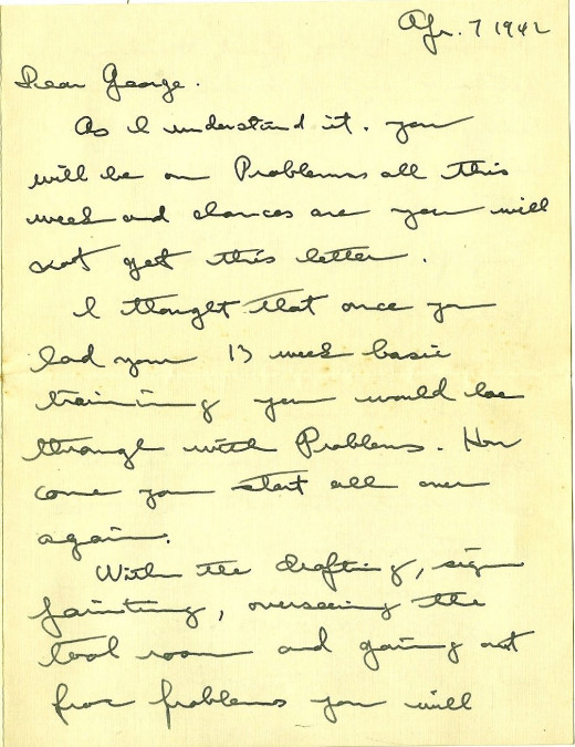 Scan of Historic WWII Letter