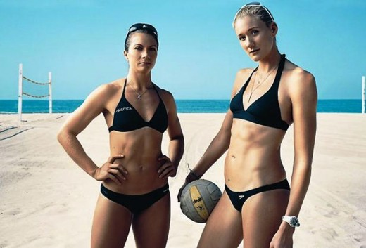 swimwear for beach volleyball olympic athletes