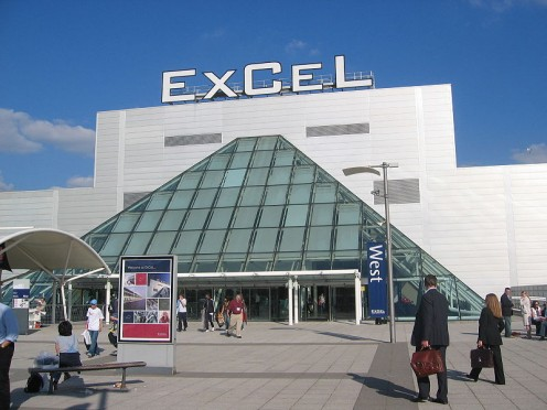 ExCel Exhibition Centre. Site of The Taekwondo events at the 2012 Summer Games.