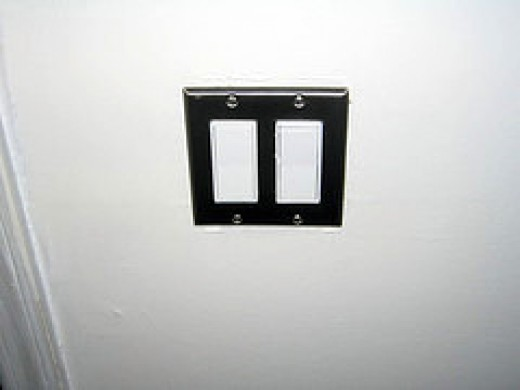 rocker type light switch is easy if your are old and suffer from arthritis - Secure Home Design